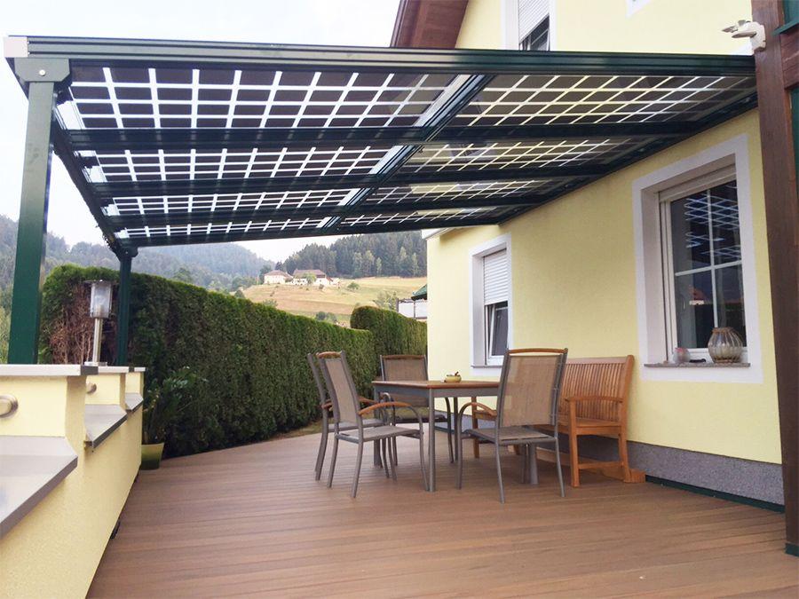 solar heisse berdachung metallbauweise terrasse pinterest solar bau und berdachungen. Black Bedroom Furniture Sets. Home Design Ideas