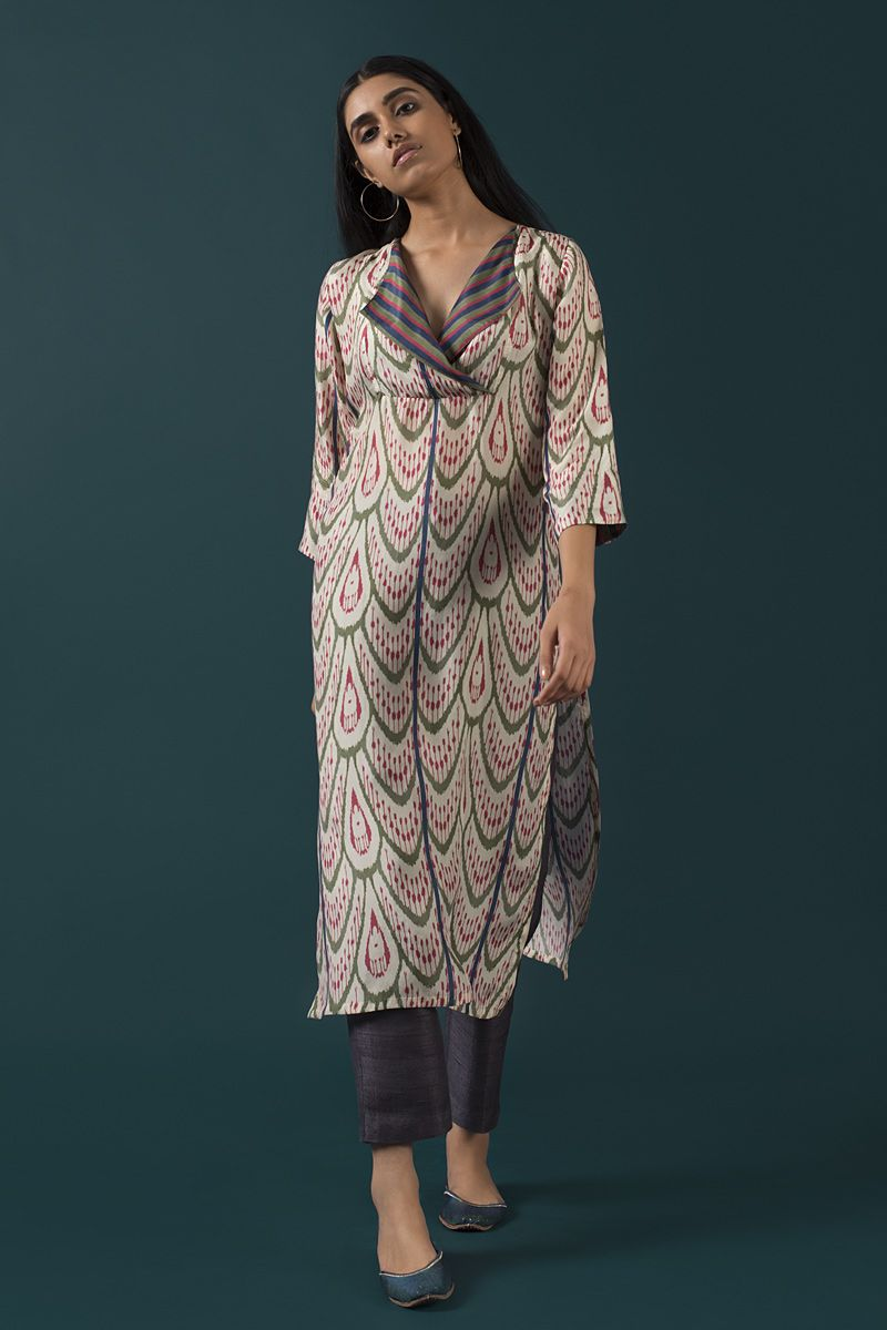 How to ikat wear prints new photo