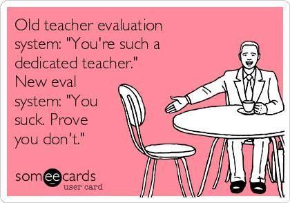 The Teacher Evaluation System  Teacher Humor