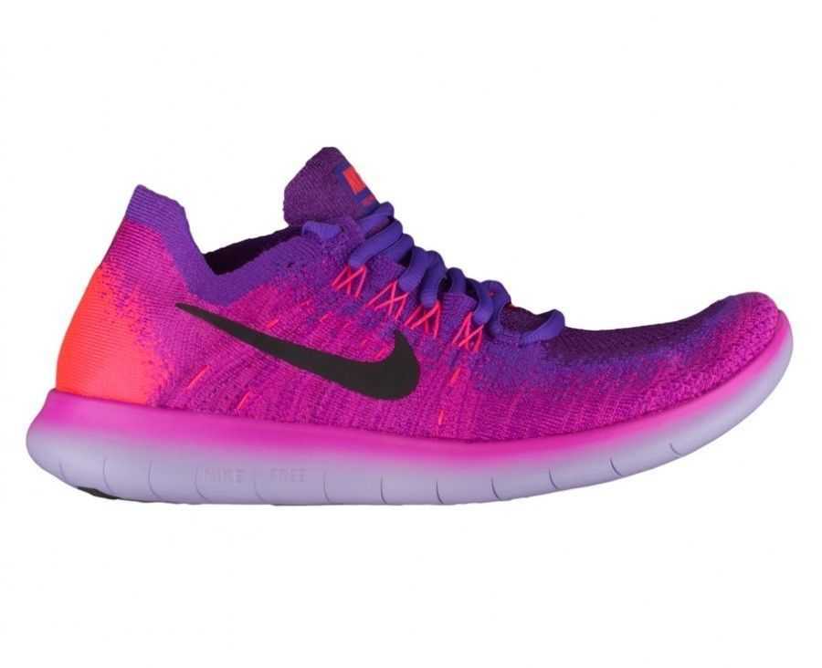 6482a06d4d63 Nike Free RN Flyknit 2017 Women s Hyper Grape Rose 880844-600 Fire Pink  Rare  fashion  clothing  shoes  accessories  womensshoes  athleticshoes  ad  (ebay ...