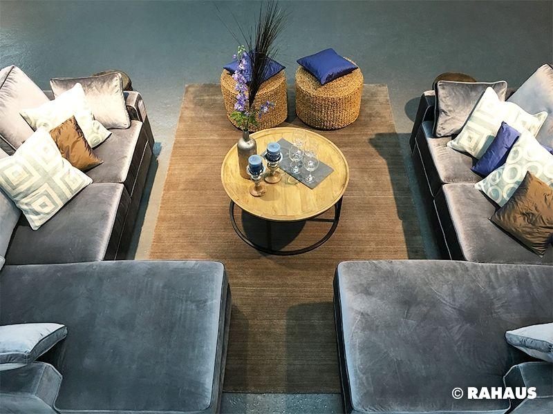 Living Berlin Möbel modern style sofa stil berlin rahaus teppich sessell