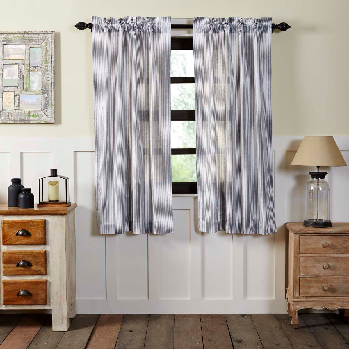 Cape Cod Short Panel Curtains 63