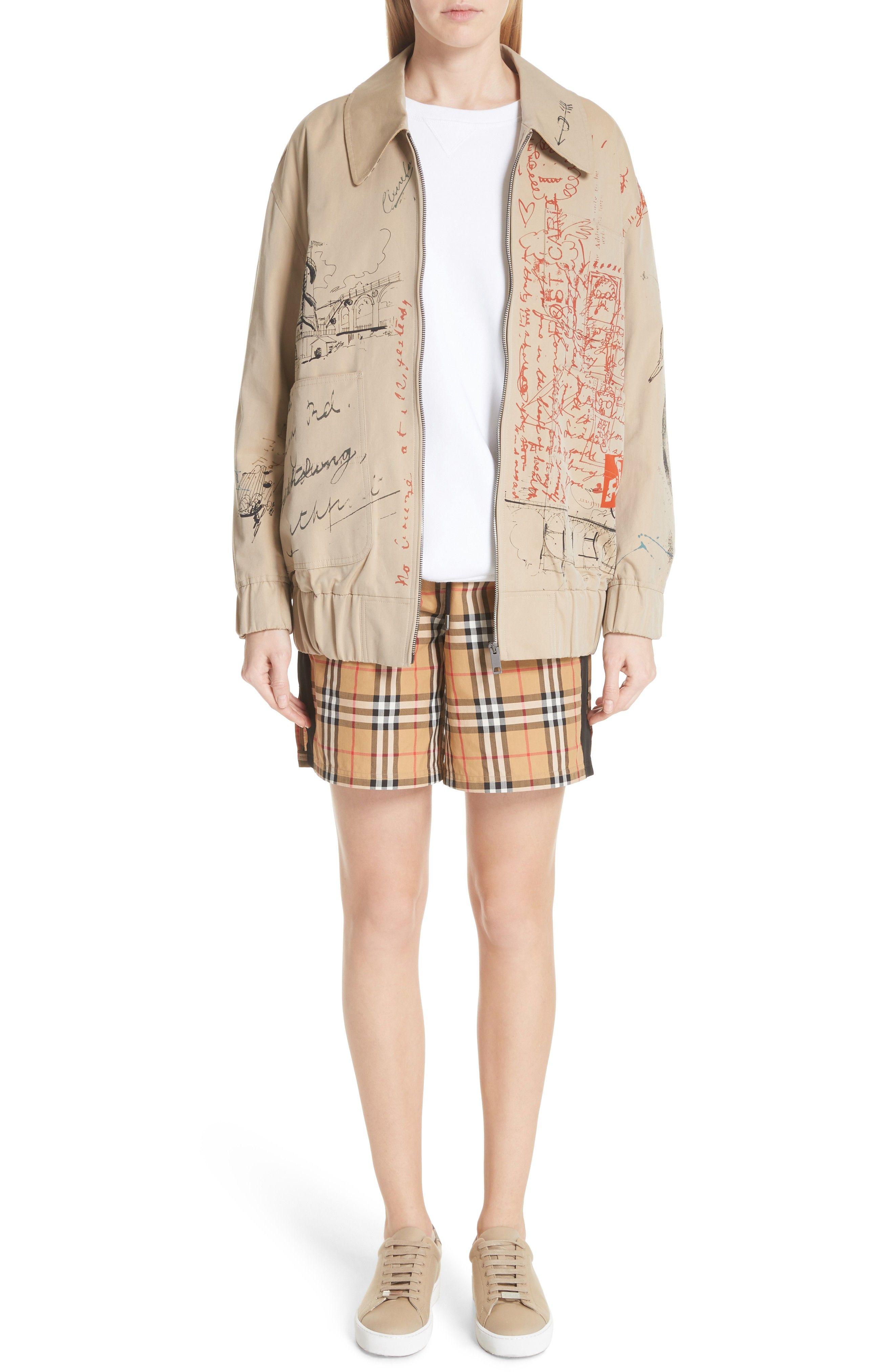 Burberry Dovemoore Cotton Shorts  0c854cf691