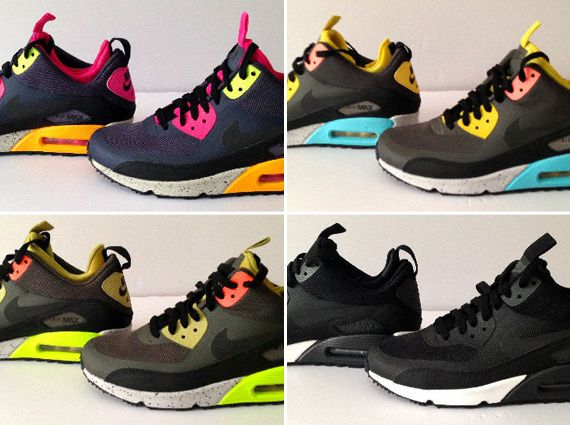 sports shoes 5982c ac234 Nike Air Max 90 Mid No-Sew - Upcoming Releases - SneakerNews ...