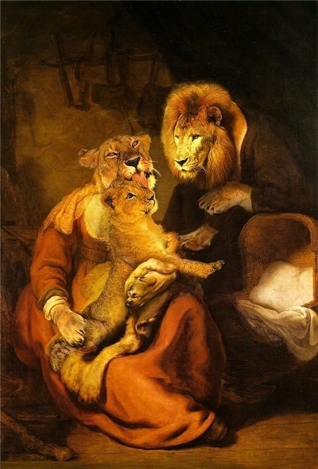 Lion Family ~ Fantasy