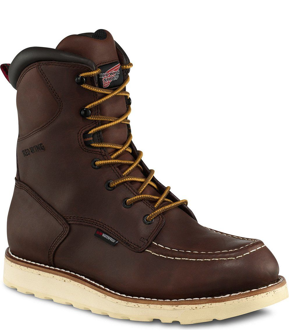 Functional and Fly. Boots, Mens lace up boots, Red wing