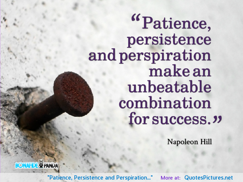 Persistence Quotes Persistence Quotes  Hill  Quotables  Pinterest  Persistence
