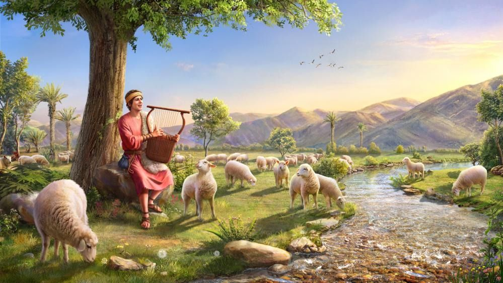 #bibbia #lode #pecora #jahvè
