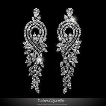 Edgy Cool Chandelier Earrings Google Search Long Diamond