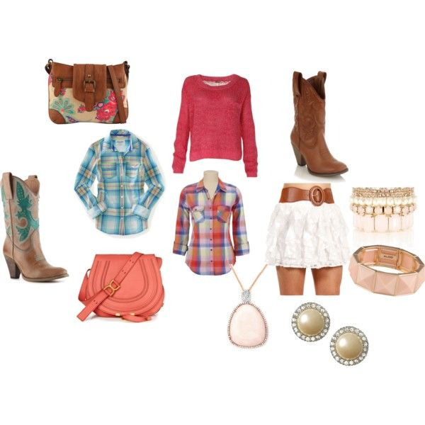 """""""cowgirl chic"""" by bubbletrouble02 on Polyvore"""