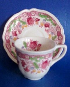 Johnson Brothers Dorchester Demitasse Cup And Saucer Cup And