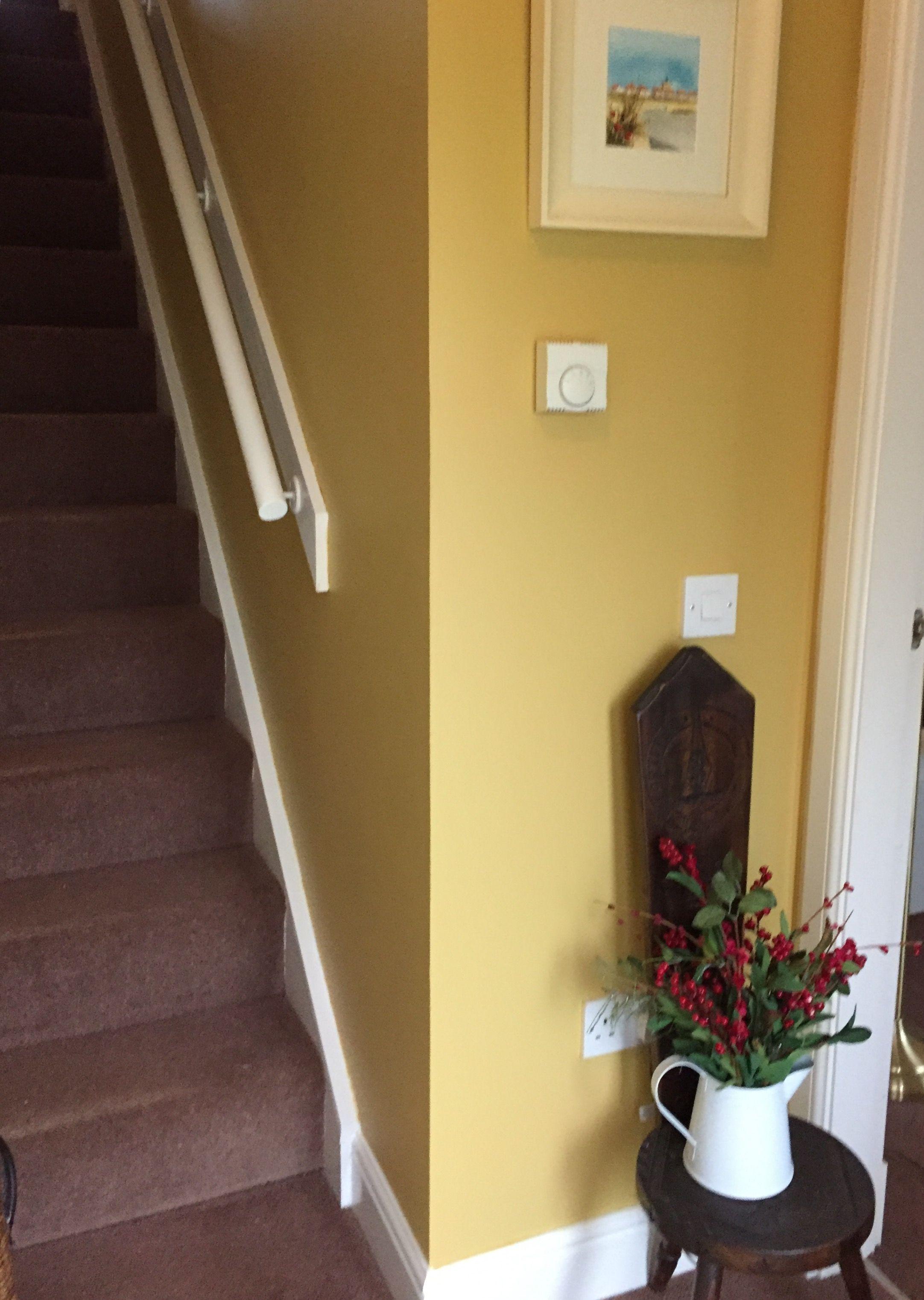 Sudbury Yellow from Farrow and Ball.   Kitchen wall   Pinterest ...