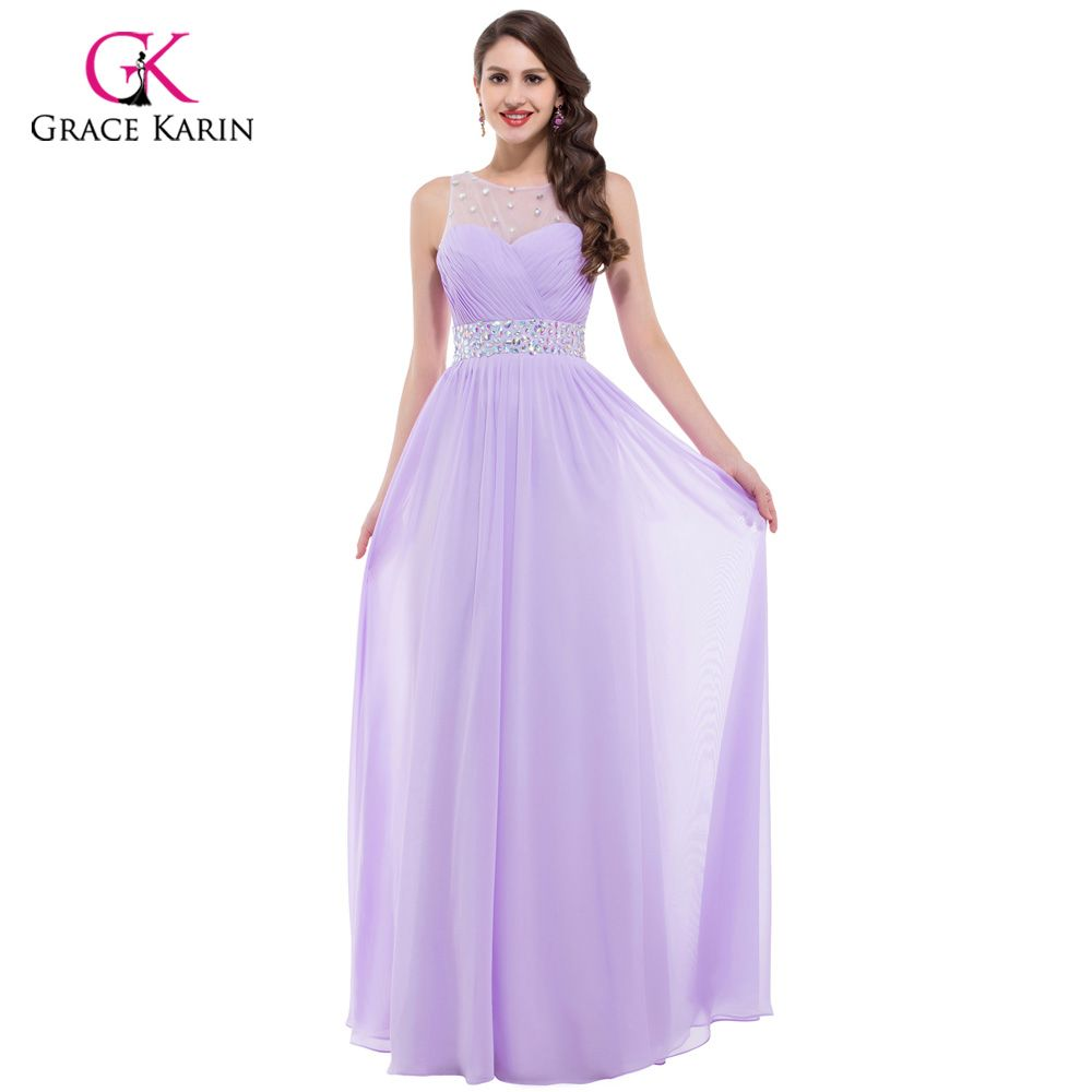 Specials price high quality grace karin pink bridesmaid dress long