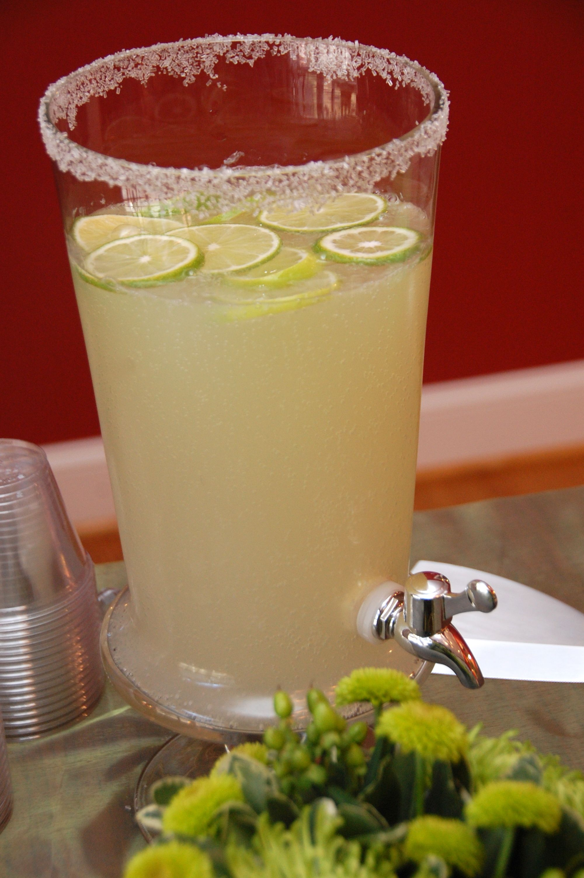 Mamaritas Non Alcoholic Margaritas for a baby shower or other