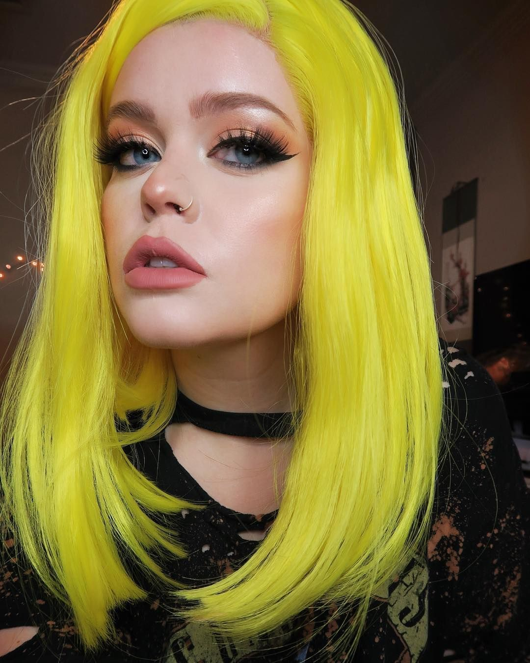 Park Art|My WordPress Blog_Neon Yellow Temporary Hair Dye