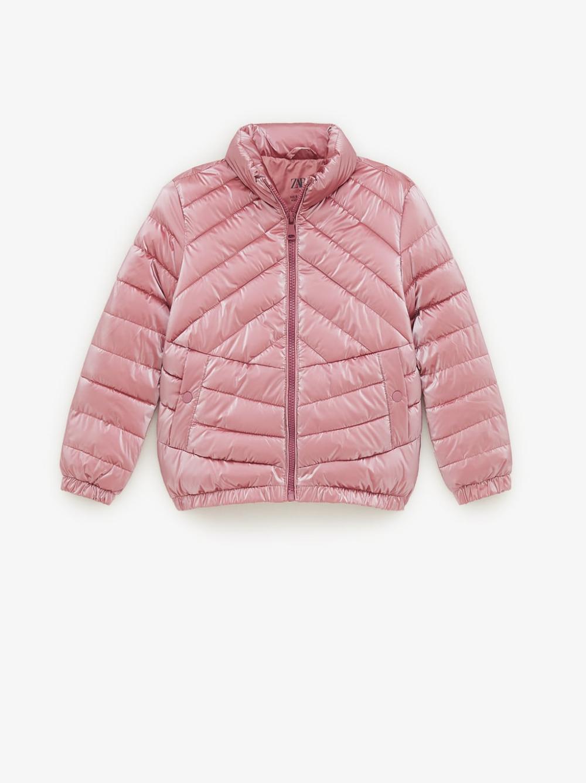 Shimmery Lightweight Puffer Jacket Coats Jackets Girl 6 14 Years Kids Zara United Kingdom Cazadora Acolchada Ropa Para Ninos Varones Sudaderas Lisas [ 1337 x 1000 Pixel ]