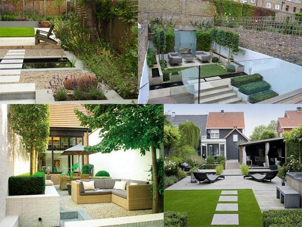 Il giardino moderno rubriche infoarredo arredamento - Design giardino casa ...