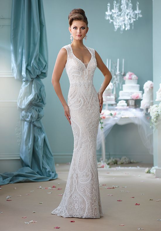 Enchanting by Mon Cheri 116123 750-999 Ivory Champagne | Gowns ...