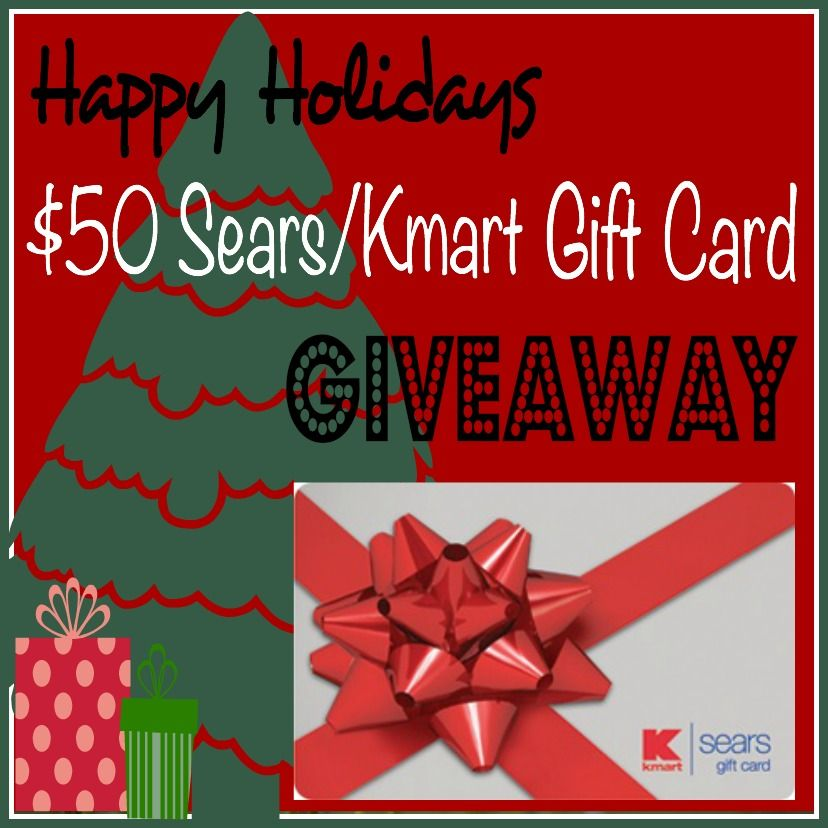 Happy Holidays $50 Sears/Kmart Gift Card #Giveaway (With