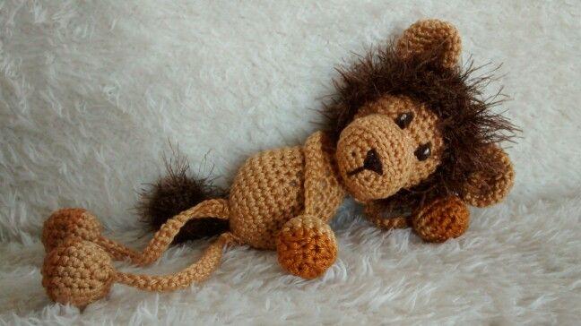 Leeuwtje Uit Het Boekje Bungelknuffels Haken Bungel Knuffel