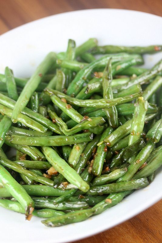 Chinese Buffet Green Beans. #food #vegetable #fitness #healthyfood