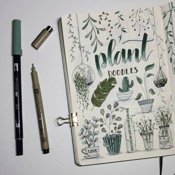 25 Bullet Journal Ideas for April