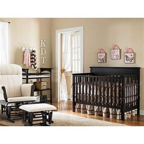 Modern Brown Nursery Furniture Sets With For Nursery Interior