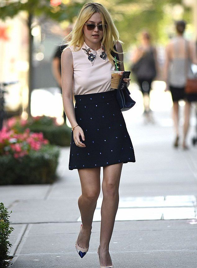 Dakota Fanning Celebrities Miu248 Addict Wearing iPkZuOX