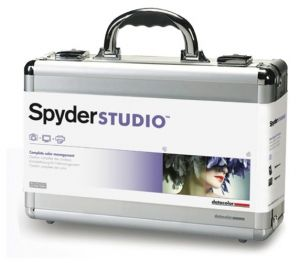 Spyder Studio - this Datacolor bundle includes the Spyder4Elite, SpyderPrint, and SpyderCube to make your photography studio efficient for consistent high-quality production