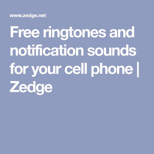 zedge notification sounds not working