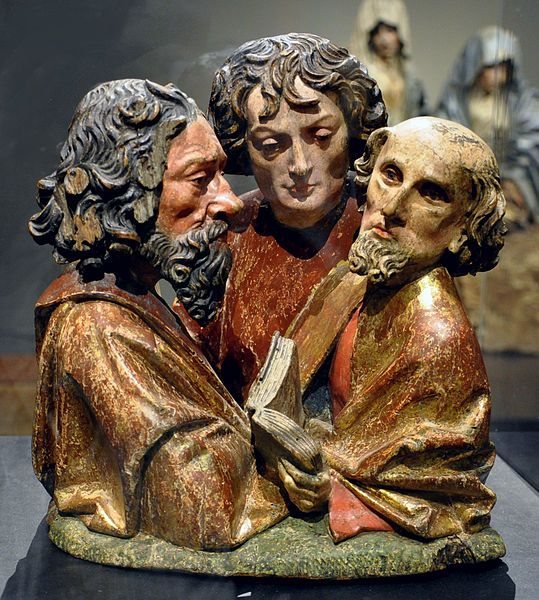 :Büsten dreier Apostel Liebieghaus