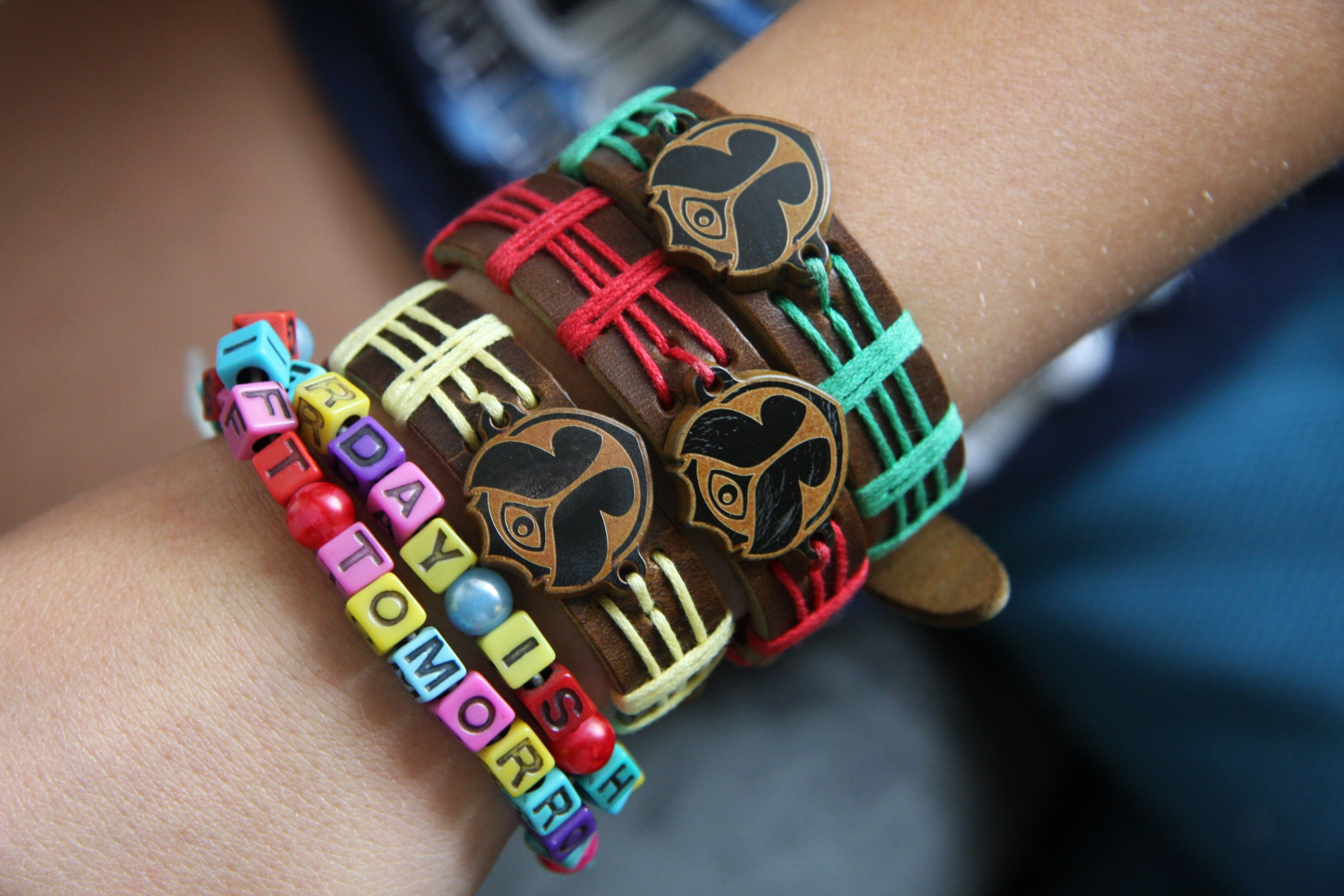 28e535a5e3fe2 Tomorrowland bracelets