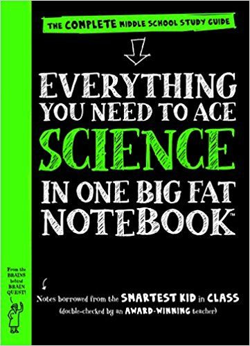 Everything You Need to Ace Science in One Big Fat Notebook: The Complete Middle School Study Guide (Big Fat Notebooks): Workman Publishing, Editors of Brain Quest: 9780761160953: Amazon.com: Books