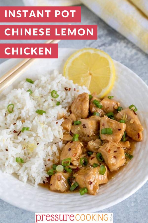 Instant Pot Pressure Cooker Chinese Lemon Chicken Recipe Pressure Cooker Recipes Chicken Pressure Cooker Recipes Healthy Chicken Recipes