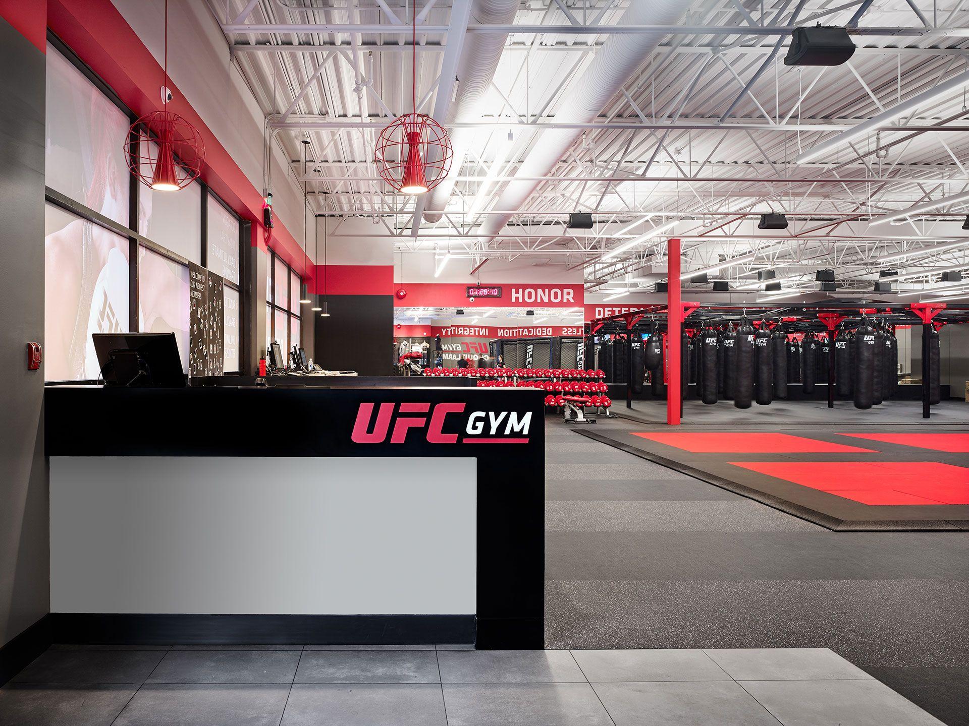 Ufc Gym Coquitlam Interior Gym Interior Gym Architecture Gym