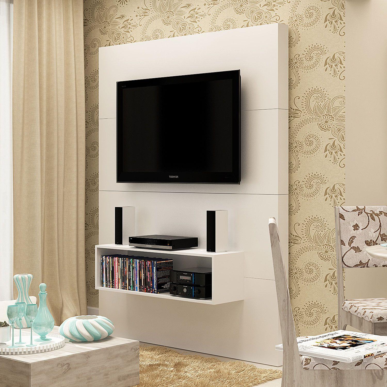 Painel Tv Com Nicho Google Search Tv Unit Pinterest Tv Units  -> Rack Pra Sala De Tv