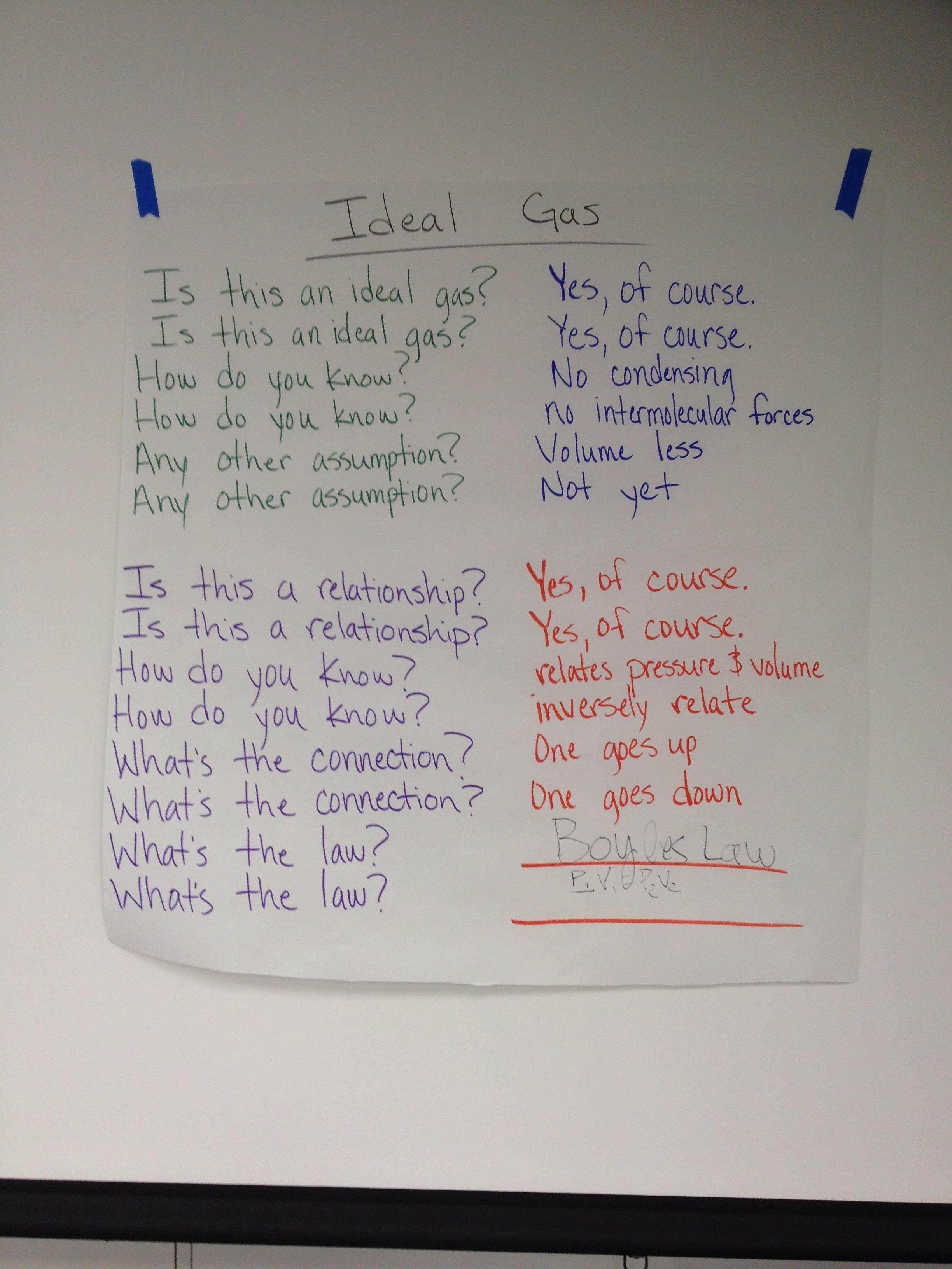 Ideal Gas Poem Poems Glad Oral