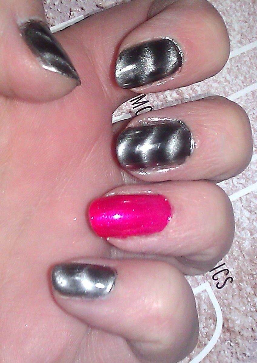 Magnetic Nail Polish | nails | Pinterest | Magnetic nail polish and ...