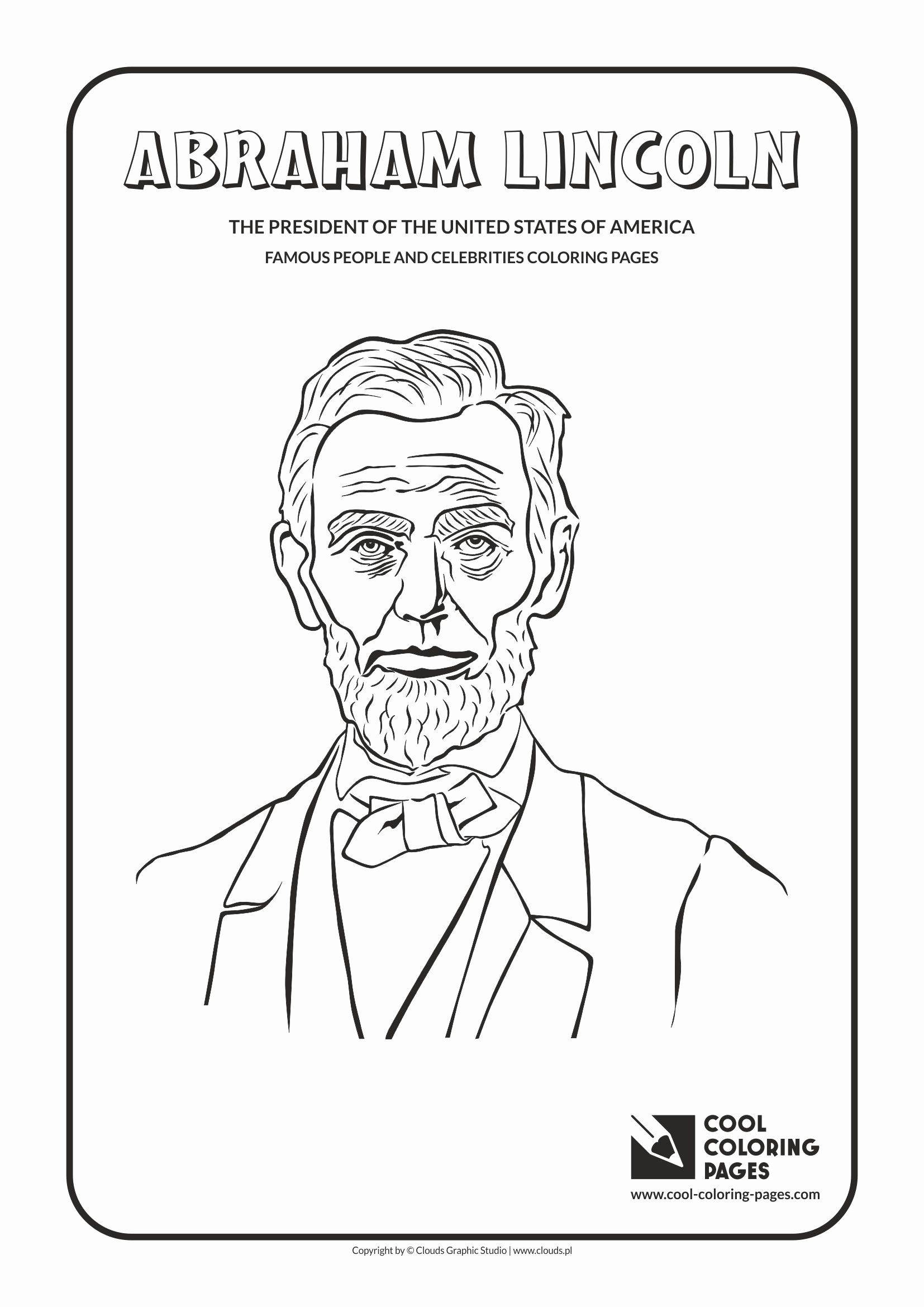 20 Abraham Lincoln Coloring Page In