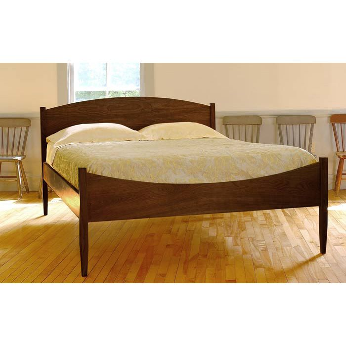 Vermont Made Shaker Moon Bed. Hand Crafted In Vermont | Solid Wood Bed