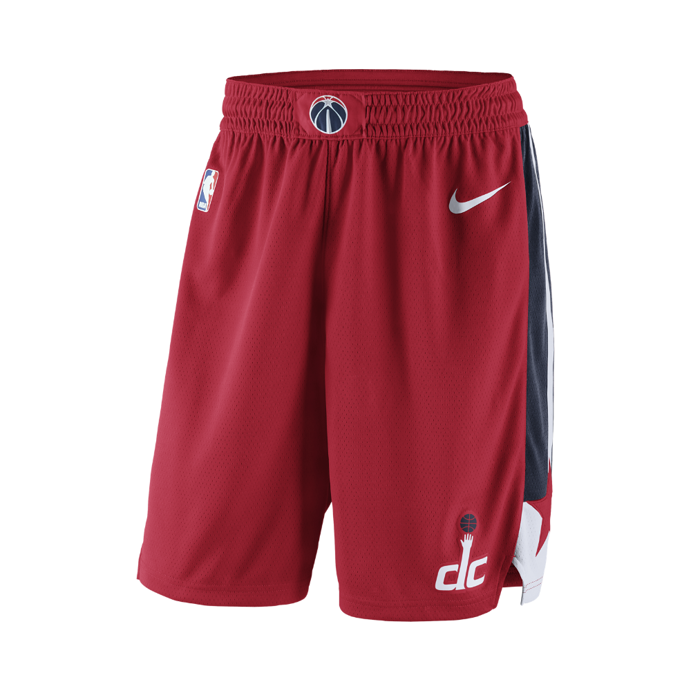 909e31f32e3 Washington Wizards Nike Icon Edition Swingman Men s NBA Shorts Size Medium ( Red)