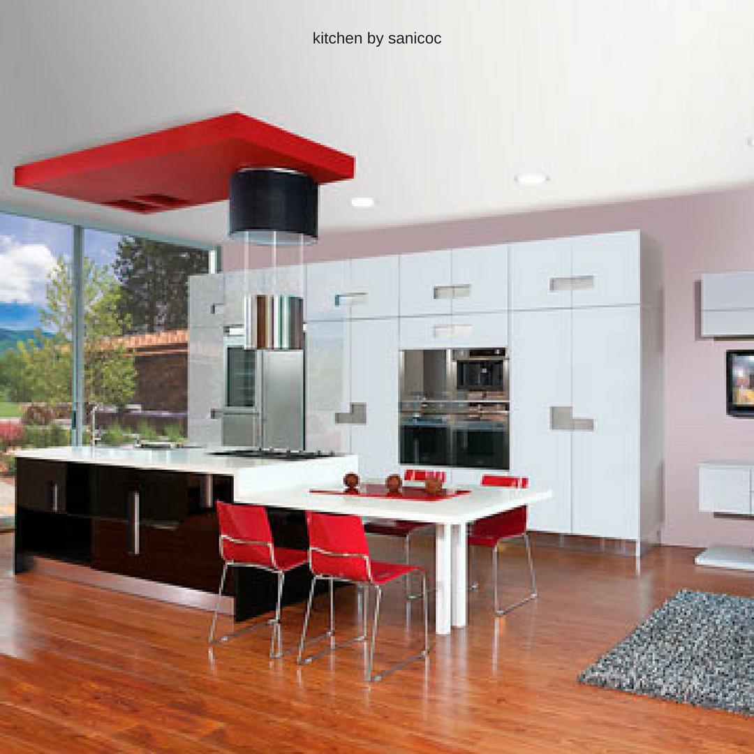 Cocinas modernas sanicoc, innovación, diseño y estilo. | Cocinas ...