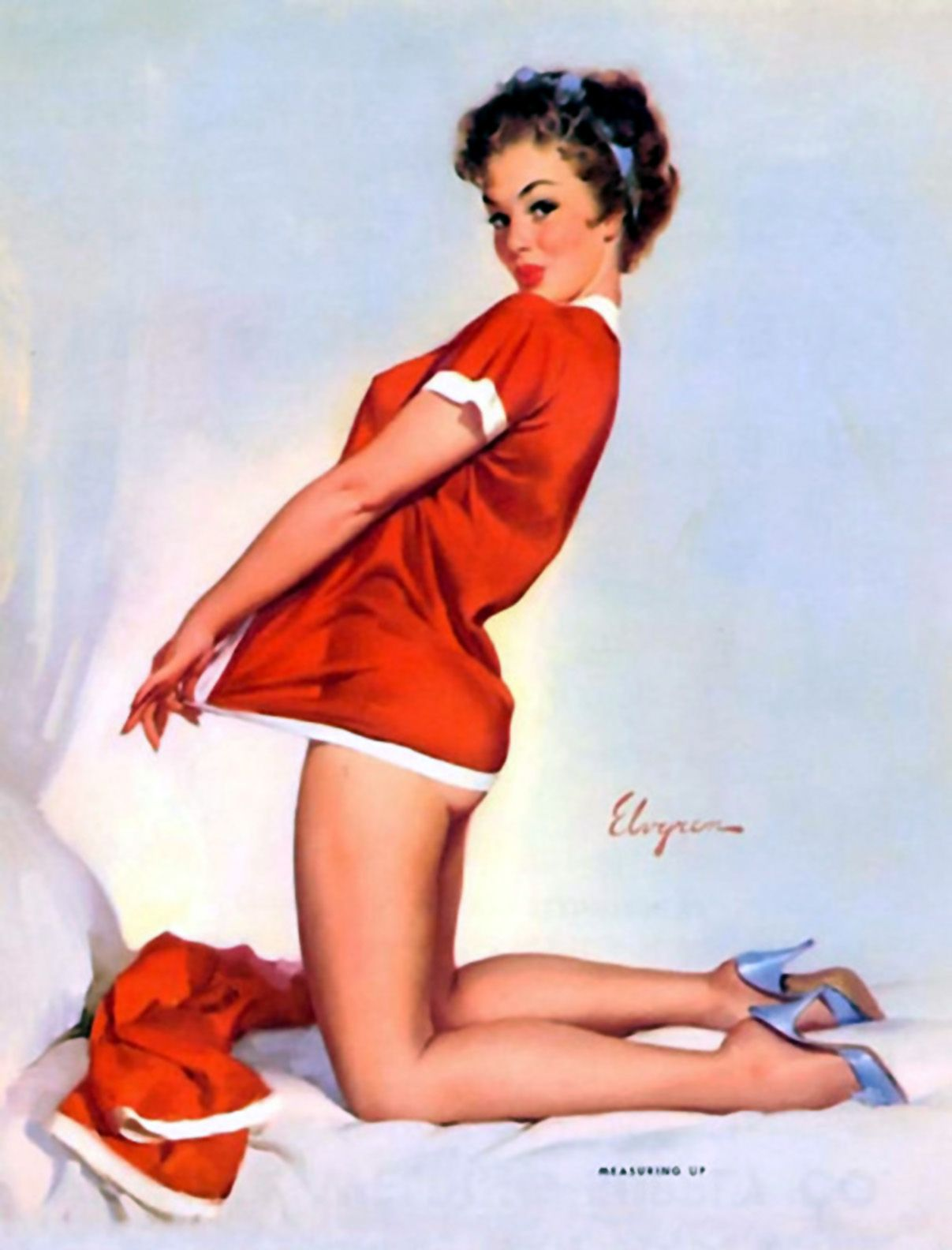 The amazing artistry of Gil Elvgren | Vintage Pinups | Pinterest ...