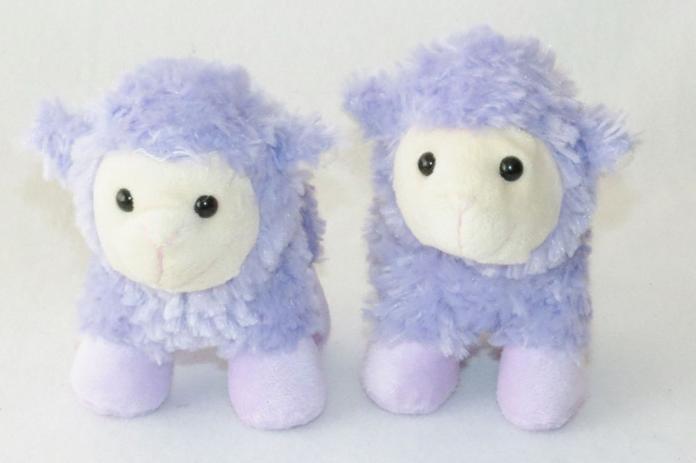 Best Made Toys Sheep Lavender Purple Lamb Plush Stuffed Easter Toy