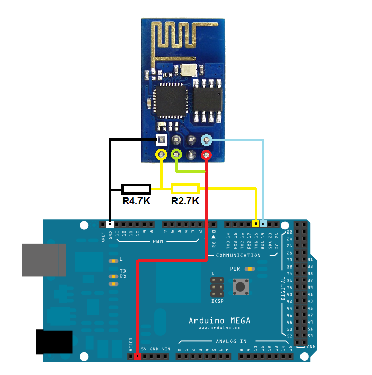 Android Arduino Control: Arduino WiFi Control with ESP8266