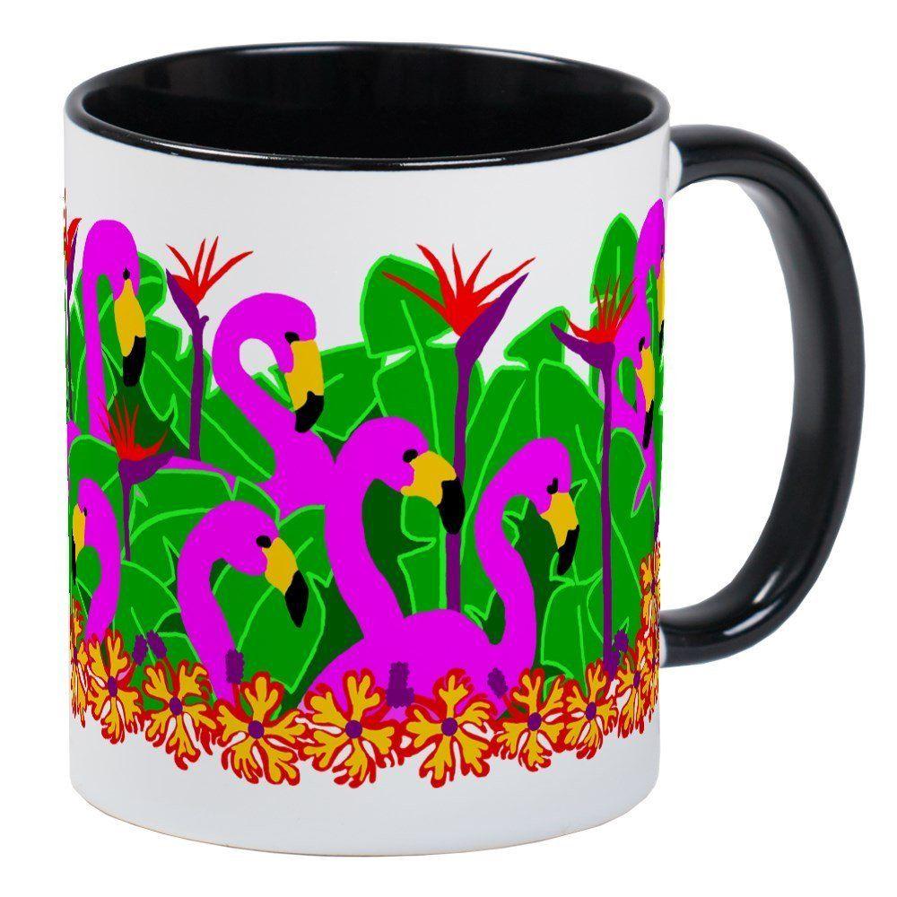 Cafepress flamingos mug unique coffee mug