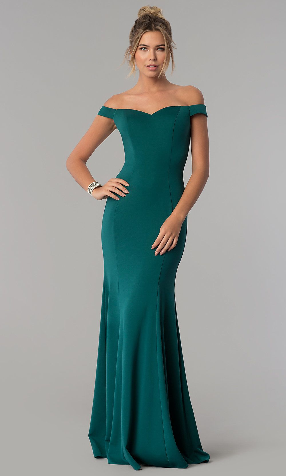 Uitgelezene Floor-Length Off-the-Shoulder Mermaid Formal Dress | Jurken ER-46