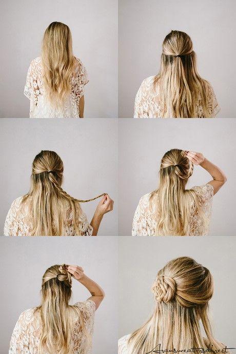 Super Einfache Frisuren Fur Anfanger Besten Haare Ideen In 2020 Leichte Frisuren Geflochtene Frisuren Frisur Hochgesteckt