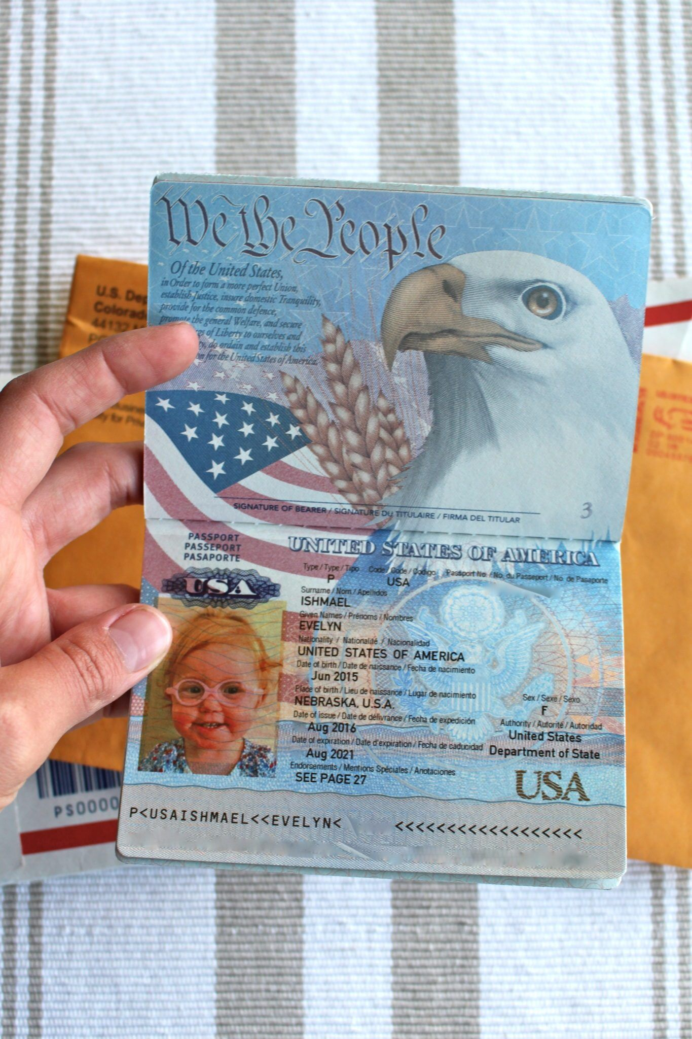 A Quick Guide To Baby S First Passport Our Next Adventure Passports For Kids Passport Online Passport Template