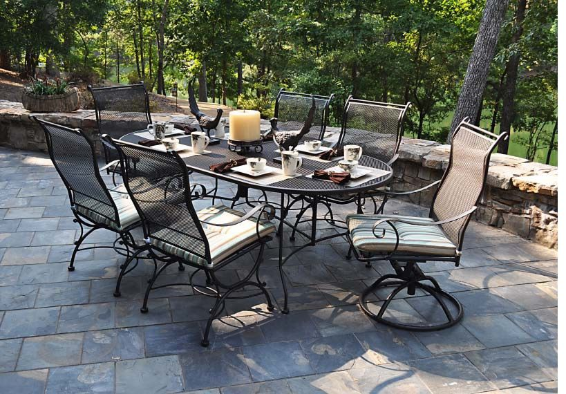 Alexandria Wrought Iron Patio Furniture | Marina Pool Spa - Handicap Patio Furniture Alexandria Wrought Iron Patio